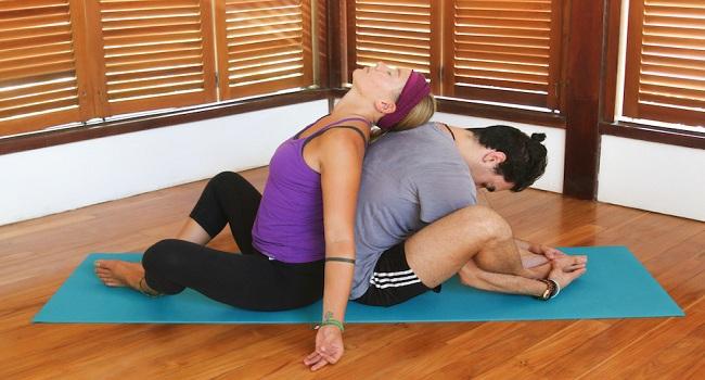 Couple Yoga Poses For Beginners Ekam Yogashala
