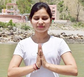 yoga teacher tanushree rawat
